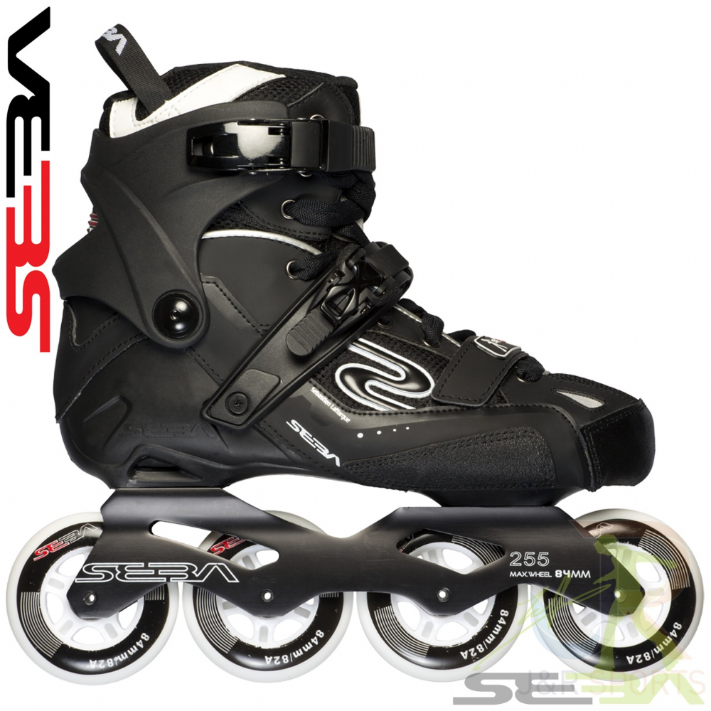 Seba '14 GT 84 In-Line Skates - Black UK6/39